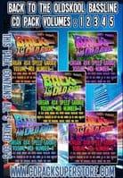 Rocky T Presents - Back to The Oldskool Bassline - Vol 1-5 - CD Pack